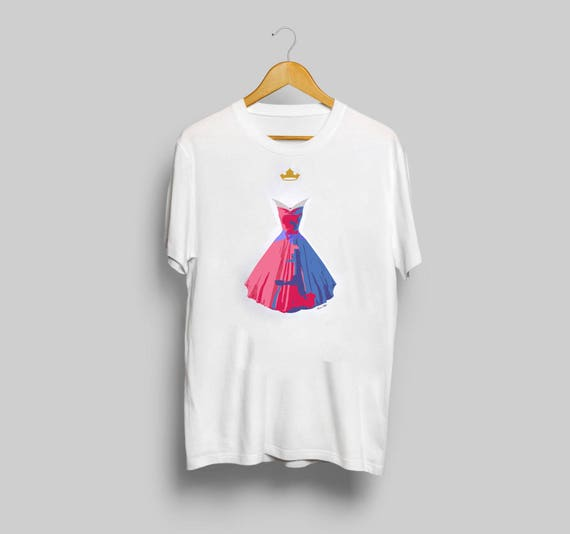 Disney's Aurora Long Sleeve T-Shirt - minimalist sleeping beauty aurora t shirt clothing art apparel popsugar y3mS4wgkCZ