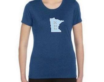 RUN Minnesota tech running shirt! Show your Minnesota Love ;-)