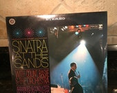 Frank Sinatra quot Sinatra at the Sands quot Factory Sealed New Old Stock Vinyl Record LP 1960 39 s Free S H