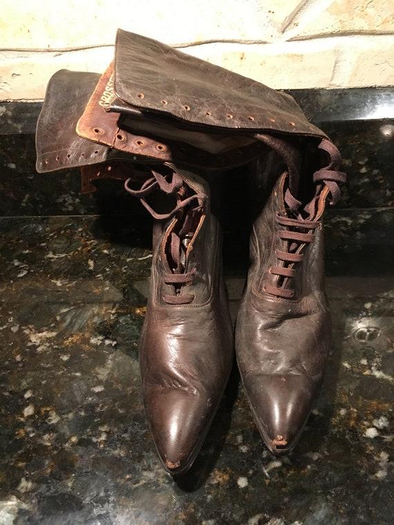 Antique Boots