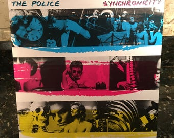 The Police - Synchronicity 1984 LP - Vintage Vinyl Record  LP -  Free Shipping!