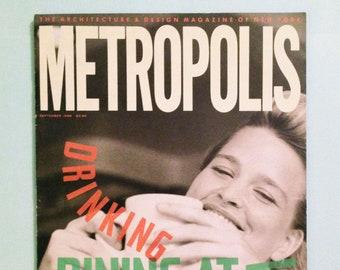 1988 Metropolis Magazine Architecture Design Design | Etsy