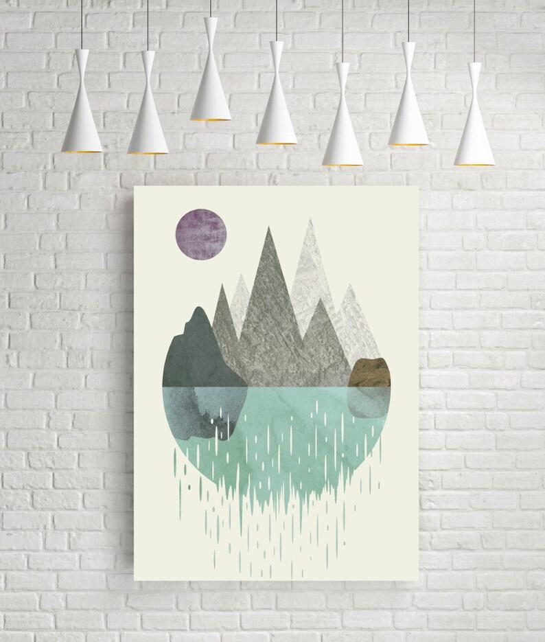 Wall art prints art print minimalist print abstract image 0
