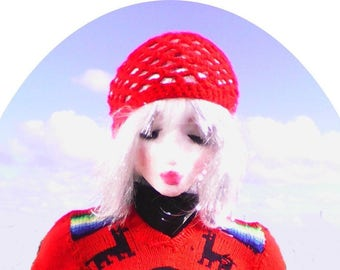 Vintage 1970'crochet hat