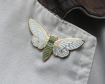 """Cicada 1"""" Enamel Pin"""