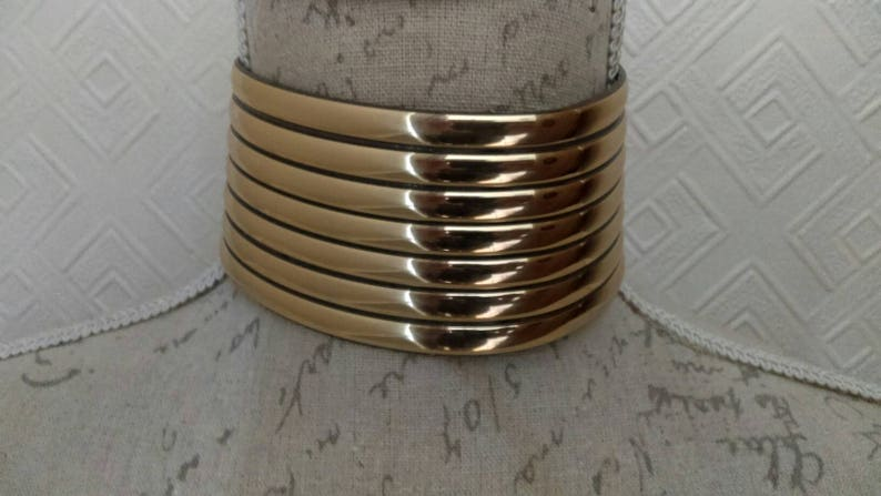 South African Ndebele Gold chocker.