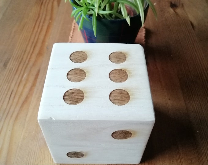Large Fun Lightweight Dice For Indoor Or Outdoor Use.