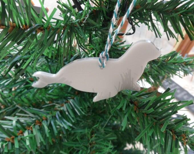 Seal Christmas Tree Decorations Set of 5.