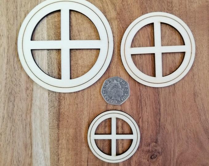 Wood Craft Round Model Windows.