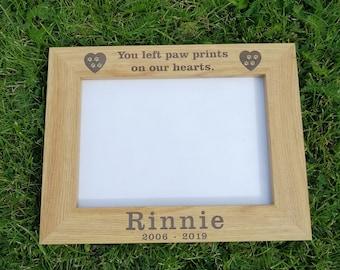 Personalised Pet Dog Photo Frame