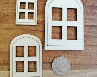 Wood Craft Model Windows.