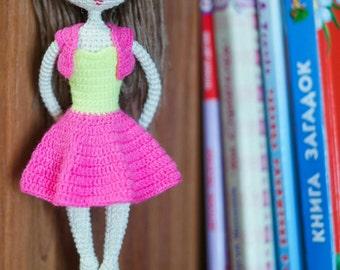 Pattern Doll Sabrina, amigurumi crochet doll, crochet doll pattern, amugurumi pattern, pdf pattern