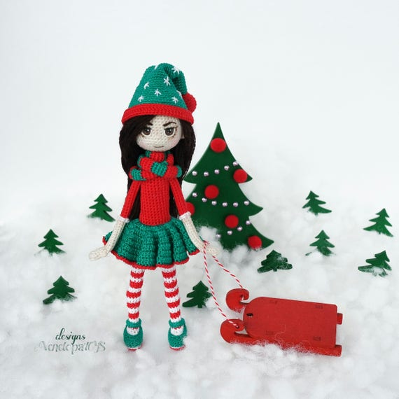 Pattern Doll Elf amigurumi crochet doll crochet doll   Etsy