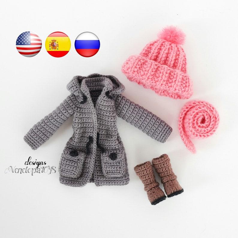 Crochet Doll Clothes Pattern Doll Vanessa Etsy