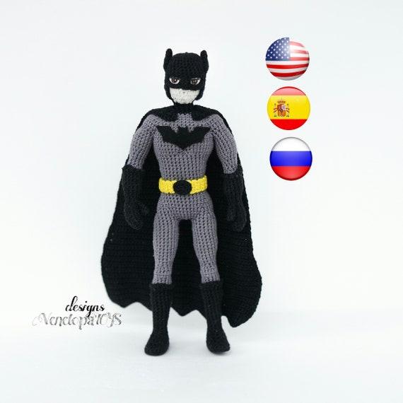 BATMAN Amigurumi Pattern SuperHero Layer Marvel Easy DIY PDF | Etsy