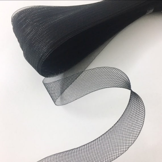 2 Inch White Polyester Horsehair Braid Selling per Roll// 22 Yards