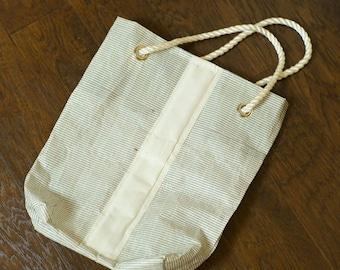 Sailcloth Beach or Pool bag