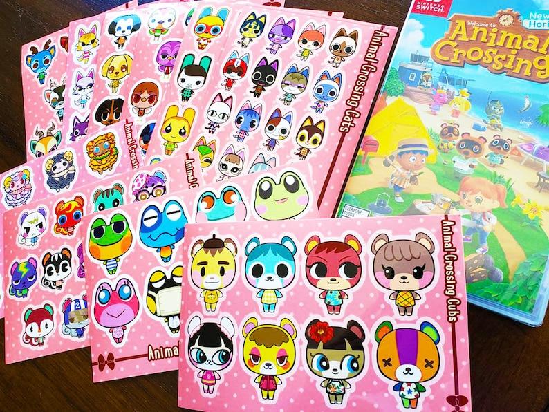 Nintendo ACNH Animal Crossing New Horizons NPC Villagers 4 ...