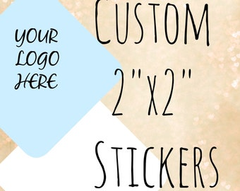Custom Stickers Custom Labels Product Labels Personalized stickers Personalized Labels custom logo stickers candle stickers bakery 2x2