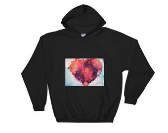 Printed ART Hooded Sweatshirt