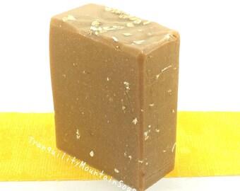 Goat Milk Oatmeal Soap Oatmeal Milk Honey Soap Goat Milk Soap Unscented Soap Natural Soap Goats Milk Soap GOATMILK OATMEAL HONEY