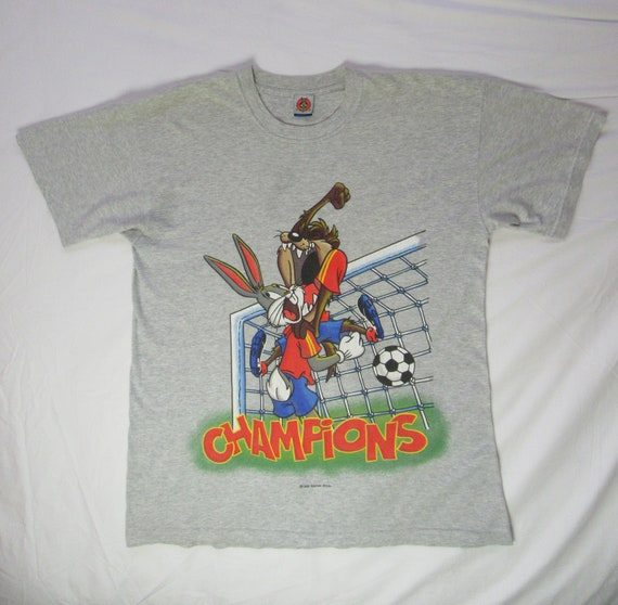 Bugs and Taz Football T-Shirt