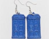 Tardis Dangle Earrings