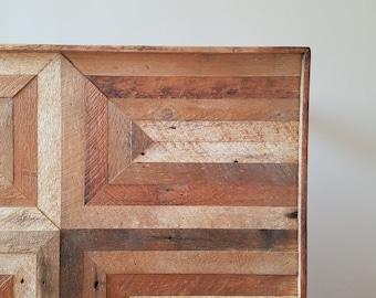 Reclaimed Wood Lath Coffee Table