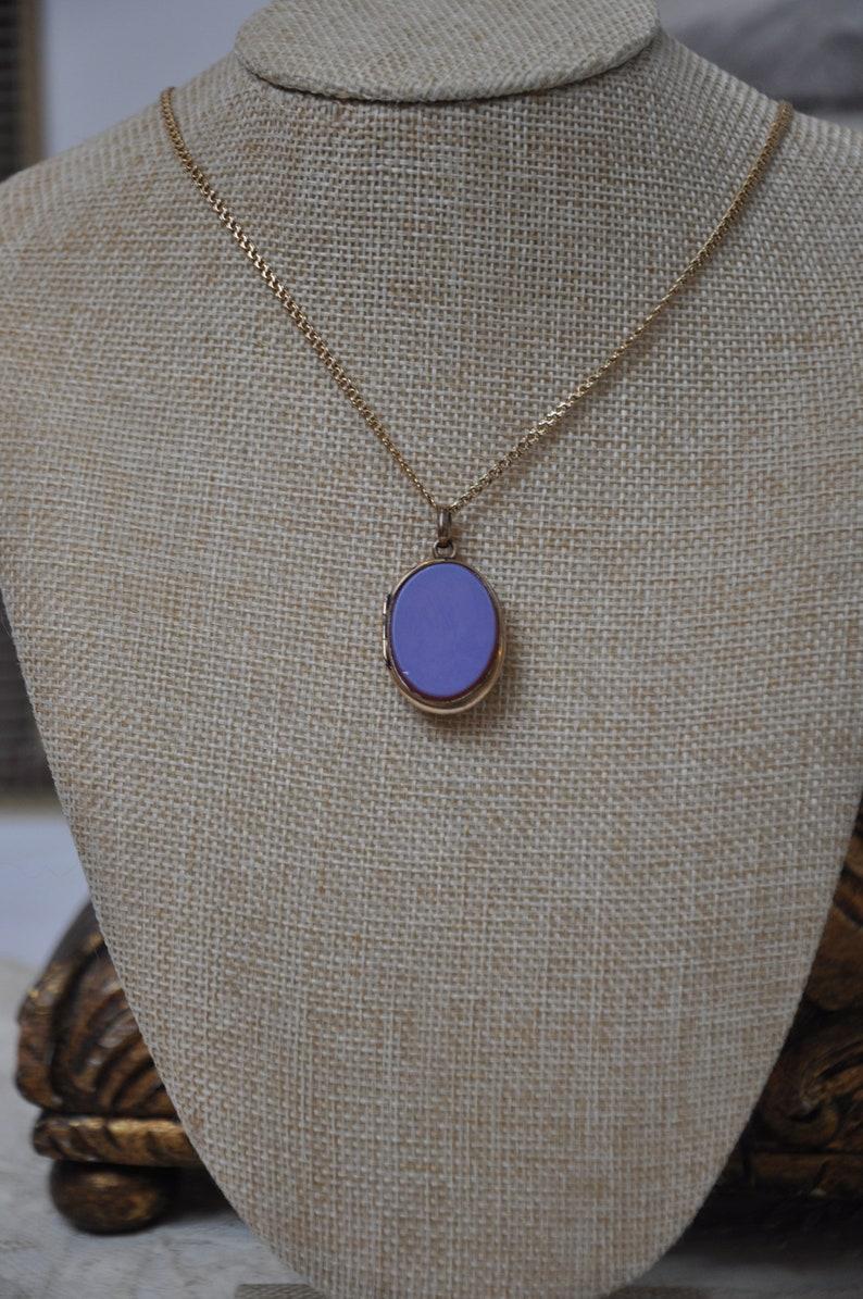 Antique Locket France GF Rose Gold Fill Purple Pendant Antique Victorian French Locket 1880s Locket Necklace Pendant Carnelian Jewelry