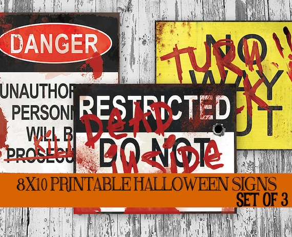 graphic regarding Halloween Signs Printable identify Printable Haunted Area Decoration, Halloween Decor, Overwhelming Decor, Halloween Celebration Indicator, Halloween Printable, Zombie Halloween Prop Doorway Indication