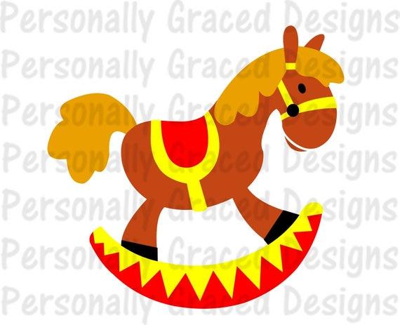 Sagoma Cavallo A Dondolo Disegno.Cavallo A Dondolo Svg File Svg Dxf Eps Tagliato Sagoma Etsy