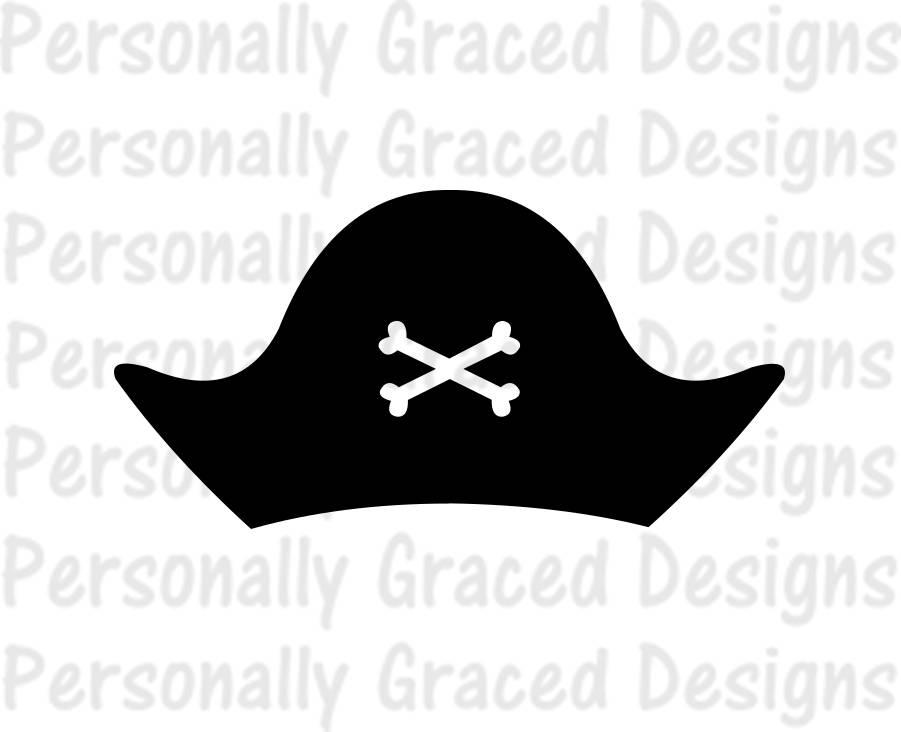 SVG DXF EPS cortar archivo pirata sombrero svg svg pirata | Etsy
