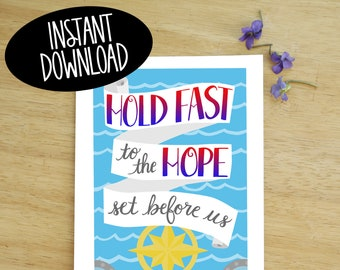 Hold Fast Printable