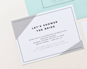 Bridal shower invitation simple floral bridal shower invite etsy bridal shower invitation simple bridal shower invitation modern bridal shower wedding shower invitation retro bridal shower invite filmwisefo