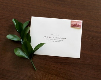 Wedding Envelope Printing | Guest Envelope Addressing, Envelope Addressing, Envelope, Wedding Envelope Addressing, Wedding Envelope, Custom