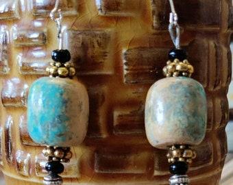 Cute Chunky Glitzy Earrings, Western Boho Earrings,