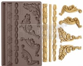 Italian Accents Redesign with Prima Decor Mould - FREE SHIPPING ELIGIBLE - Flipping Fabulous Salina