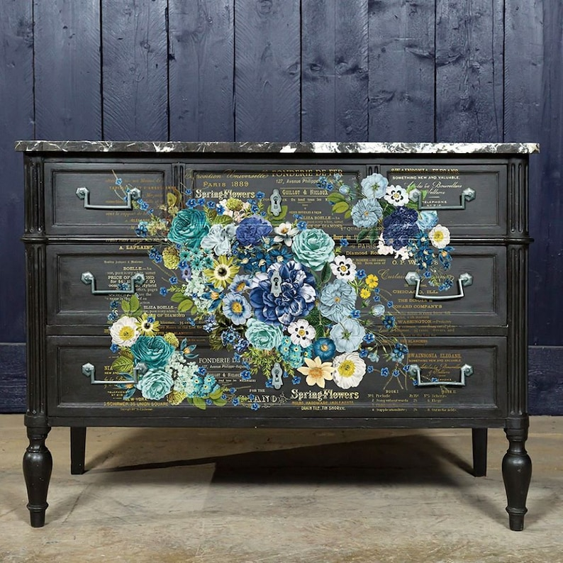Redesign with Prima Decor Transfer Flipping Fabulous Salina Cosmic Roses FREE SHIPPING ELIGIBLE