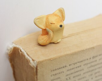 Fox Bookmark planner accessories christmas gift cute animal miniature lovers for book gift idea  for kids woodland creatures