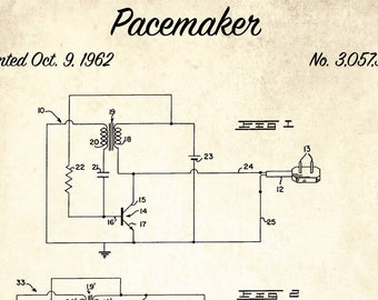 Pacemaker blueprint | Etsy