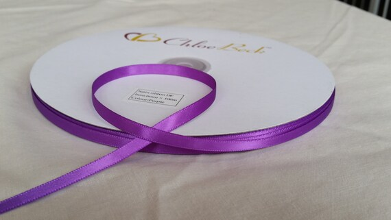 TOP QUALITY DOUBLE SIDED SATIN RIBBON 15mm x 2m CRAFT WEDDING PARTY DECORATION