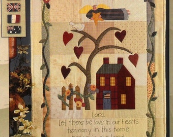 Art to Heart 154P Love in our Hearts Quilt