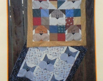 Quilt du Jour Sweet Cheeks Dog and Cat Quilts