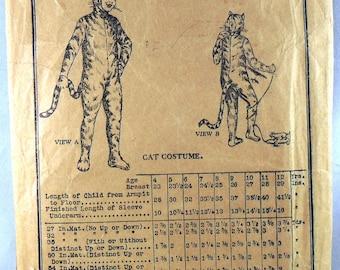 Butterick 6282 Cat Costume, breast 29