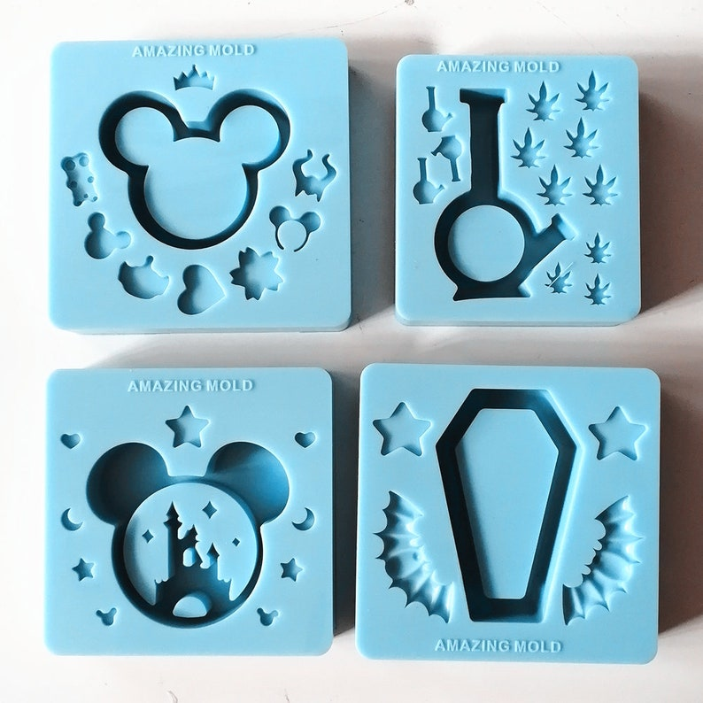 New Silicone Molds for resin crafts Clearance!