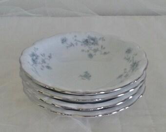Johann Haviland Blue Garland Fruit Bowls // Blue Garland Dessert Bowls // Johann Haviland
