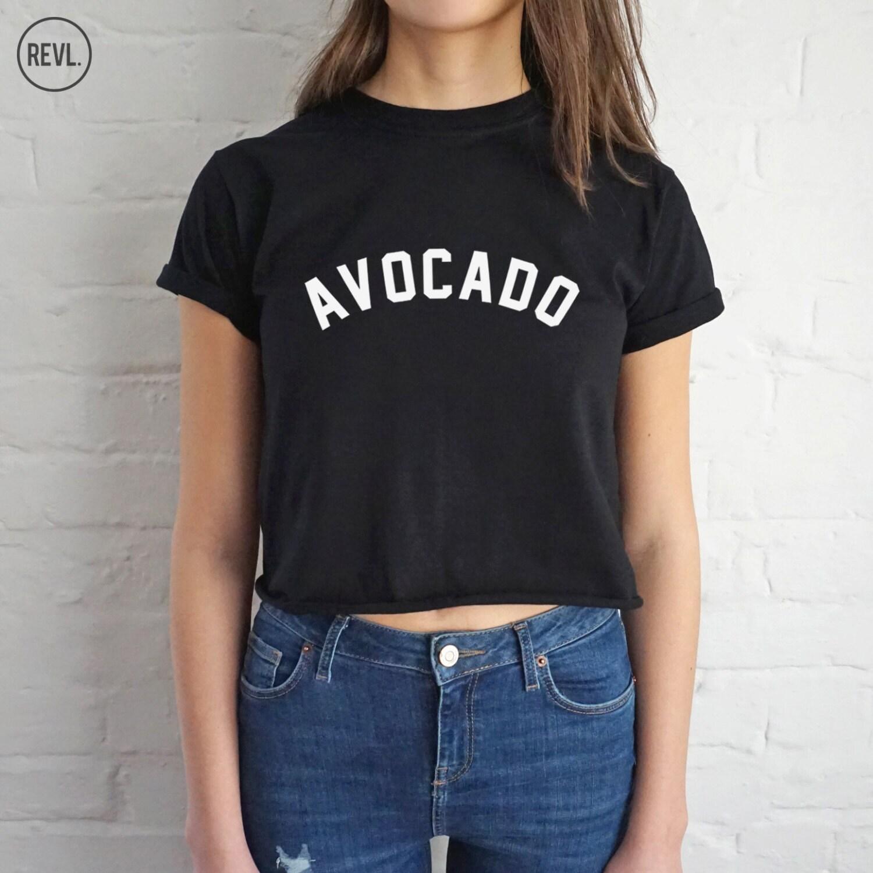 avocado pflanze t shirt top shirt t shirt beschnitten. Black Bedroom Furniture Sets. Home Design Ideas