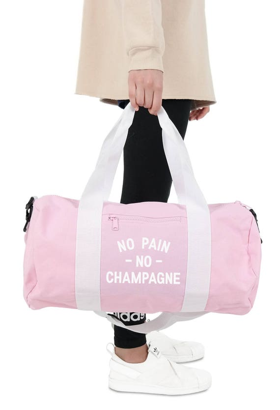 No Pain No Champagne Duffel Bag Accessories Gym Sports Yoga  9f7f510444876