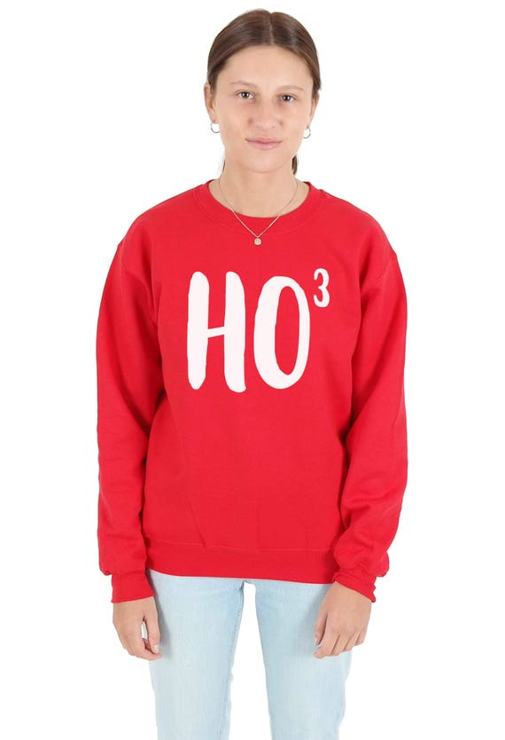 Dan And Phil Christmas Sweater.Ho3 Ho 3 Christmas Sweatshirt Sweater Jumper Top Xmas Funny Ho Santa Claus