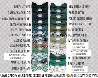 Green bow ties-clover bow tie-Forest bow tie-Juniper bowtie-Olive bow tie-gem bow tie-clover bowtie-Emerald Wedding bowtie-Groomsmen bow tie